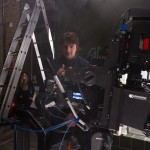 On the Panther Dolly with the Alexa on the Stereotec rig